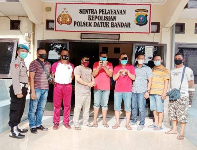 Polsek Datuk Bandar Polres Tanjung Balai, Amankan 3 (Tiga) Tersangka Pemilik Sabu