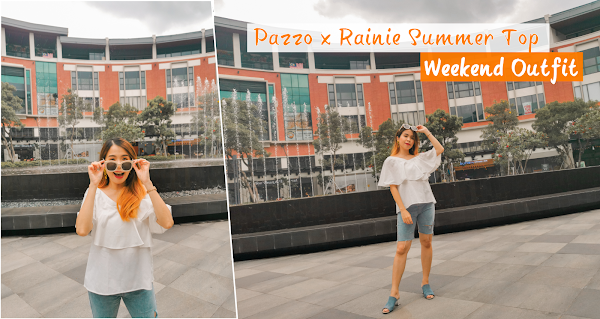 Pazzo x Rainie Summer Top Weekend Outfit
