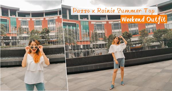 Pazzo x Rainie Summer Top Weekend Outfit