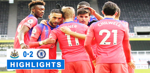 Newcastle United vs Chelsea Highlights
