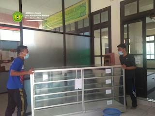 Departemen Inventaris LEDMA Al-Farabi Adakan Bedah Kantor