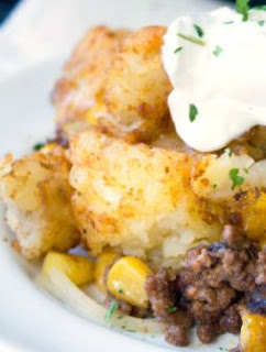 hearty meals, mexican flavored dishes, mexican tater tot casserole,