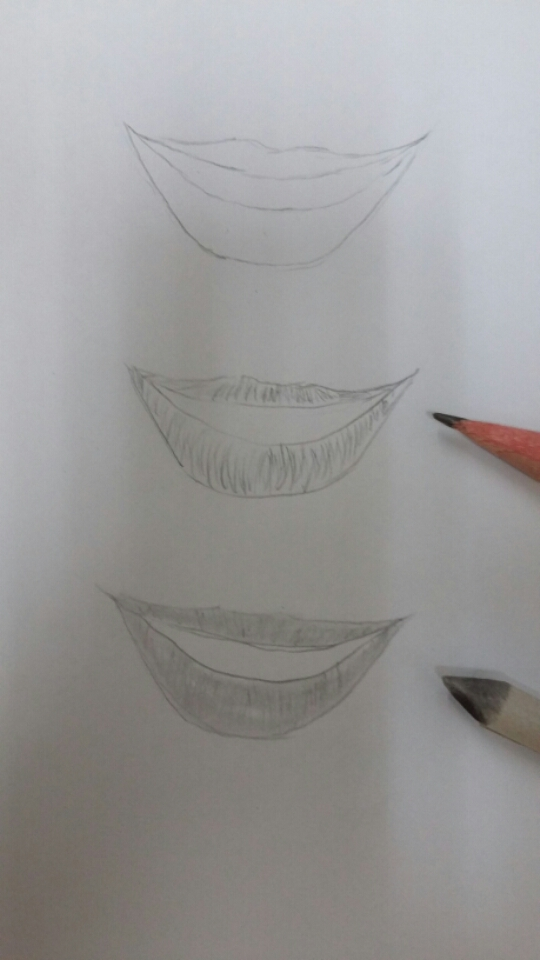 Es Mi Comic Dibujando Labios Reales