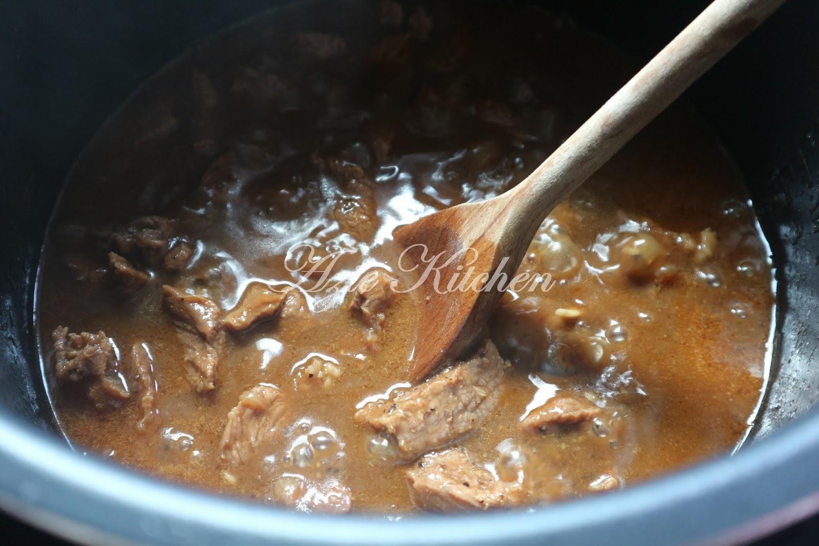 resepi daging black pepper noxxa tersoal Resepi Daging Masak Hitam Periuk Noxxa Enak dan Mudah