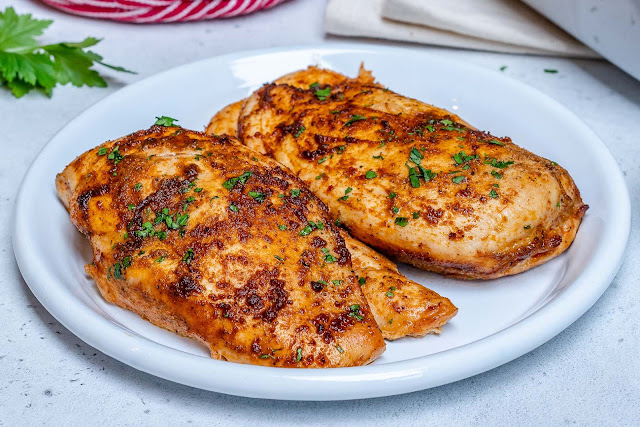 Easy Chicken breast in Romania