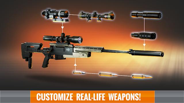 Sniper 3D Assassin: Free Games v1.14.1 Apk Mod [Dinero]