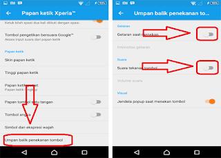 Cara Mudah Mematikan Getar Dan Suara Keyboard Pada Android Semua Tipe