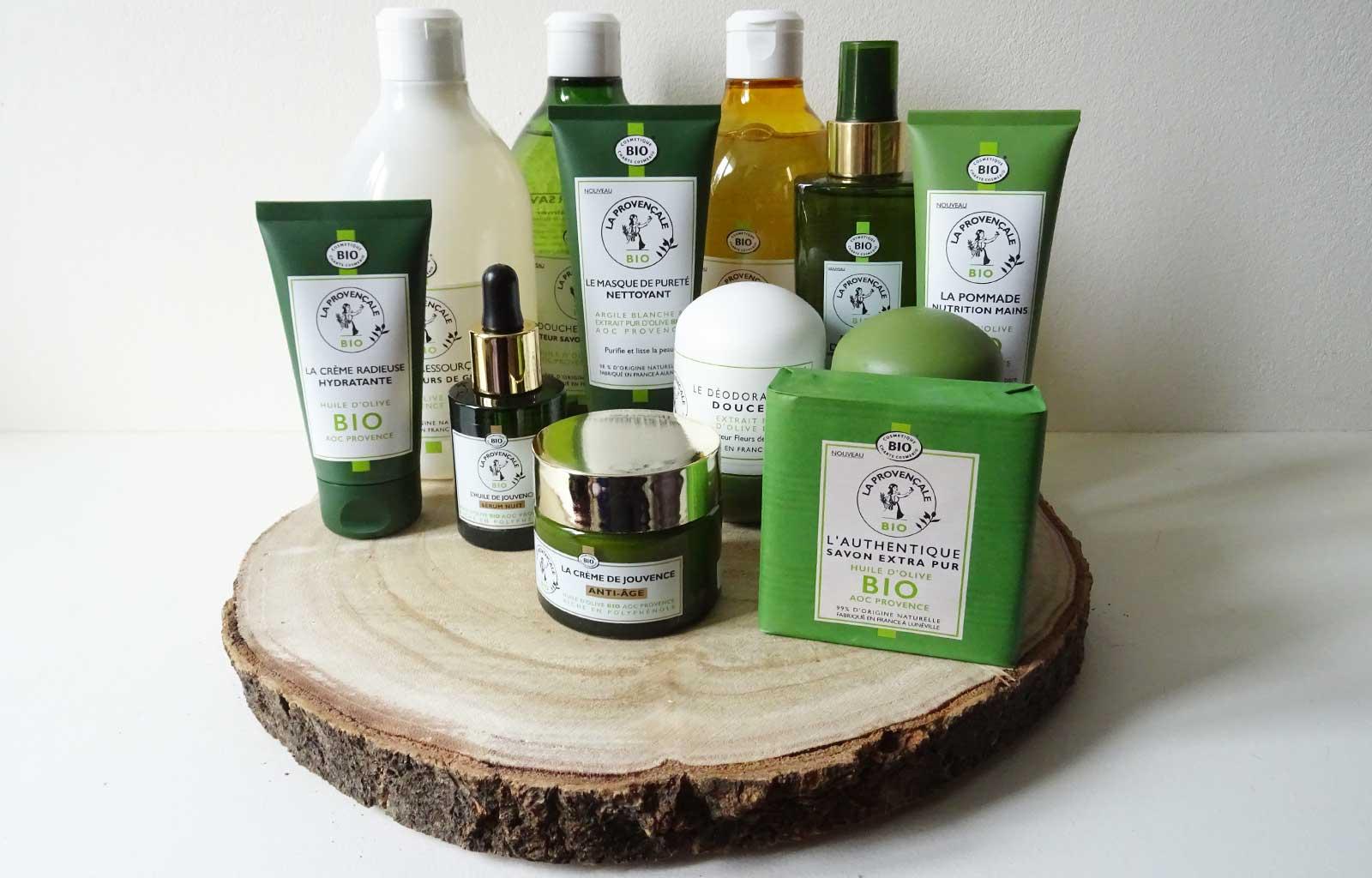 Marque soins et hygiène bio naturelle La Provençale