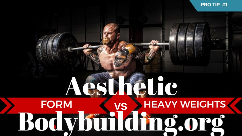 Form vs Heavy Weights - Natural Bodybuilding PRO TIP 1