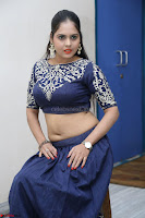 Ruchi Pandey in Blue Embrodiery Choli ghagra at Idem Deyyam music launch ~ Celebrities Exclusive Galleries 071.JPG