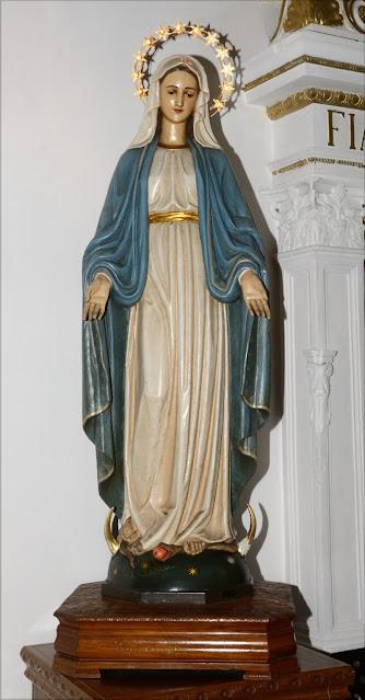 Stuflesser G. sec. XX, Statua dell'Immacolata concezione