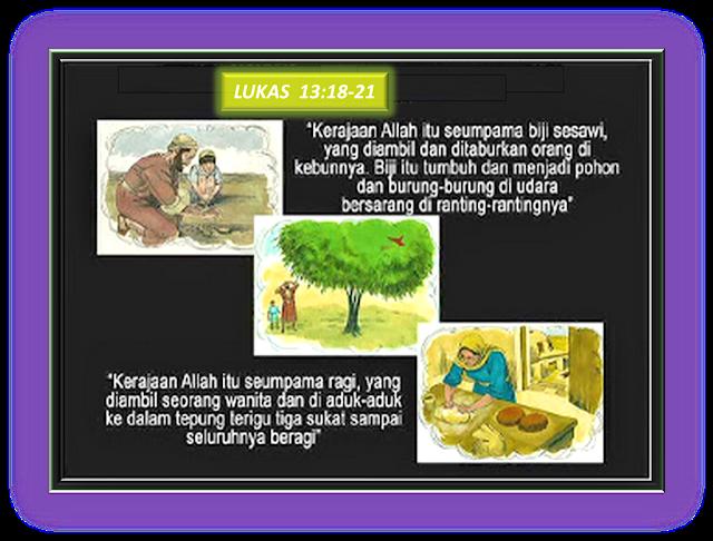 LUKAS 13:18-21