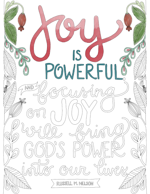 hi my name is tomi ann hill im a mom a maker and a lover of all things beautiful my first creative love is hand lettering for the last twenty years - General Conference Coloring Pages