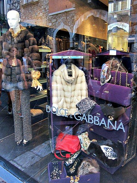 Bra affärer i Taormina