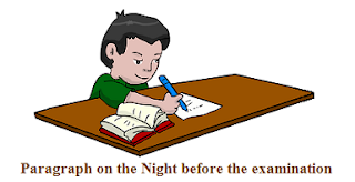 The Night before the examination
