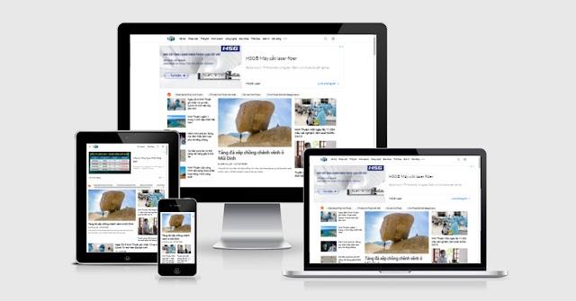 Template blogspot tạp chí chuyên nghiệp độ khó cao