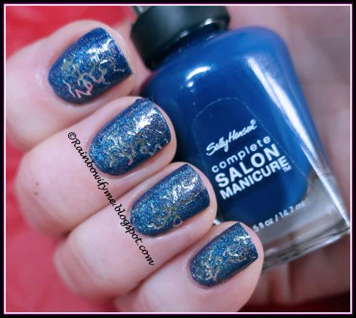 Sally Hansen ~ Thinking of Blue with My Dance ~ 001 LS