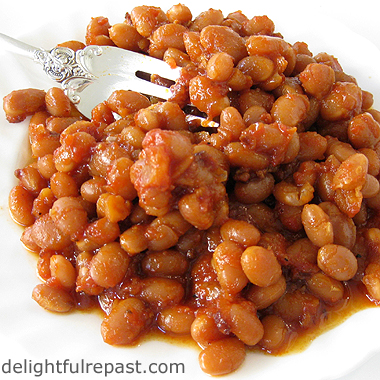 delightful repast baked beans from scratch. Black Bedroom Furniture Sets. Home Design Ideas