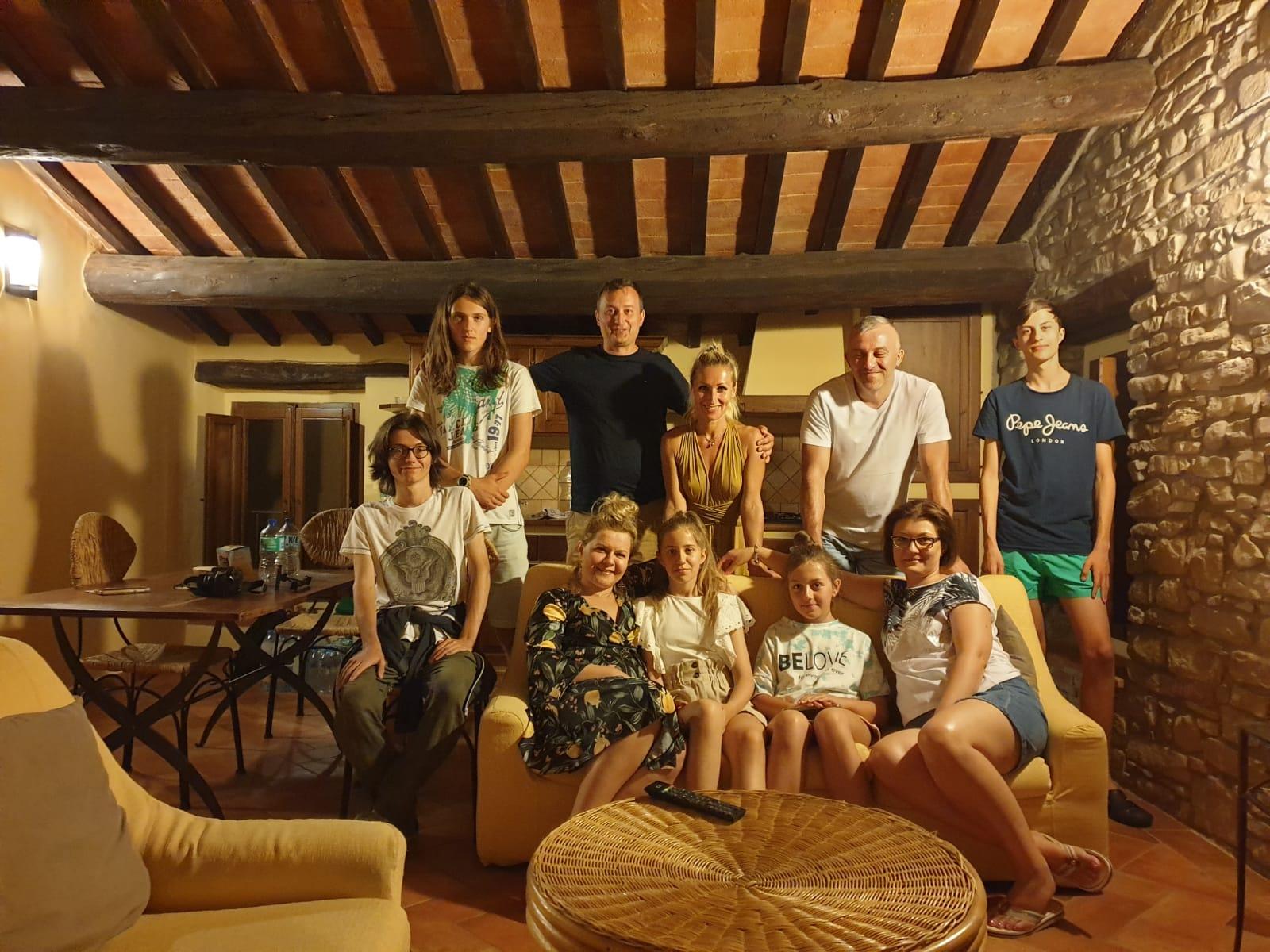 Dom z Kamienia, wakacje w Marradi