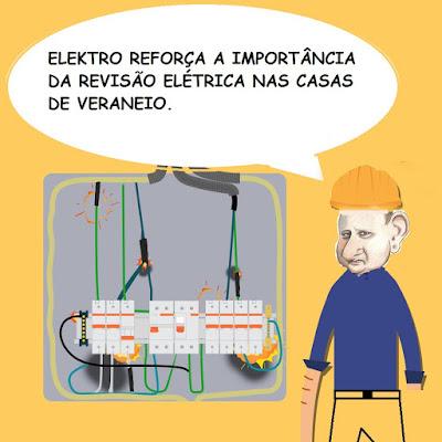 ELEKTRO REFORÇA A IMPORTÂNCIA DA REVISÃO ELÉTRICA NAS CASAS DE VERANEIO