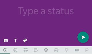 WhatsApp Sedang Menguji Update Status Teks Berwarna Mirip dengan Status Facebook