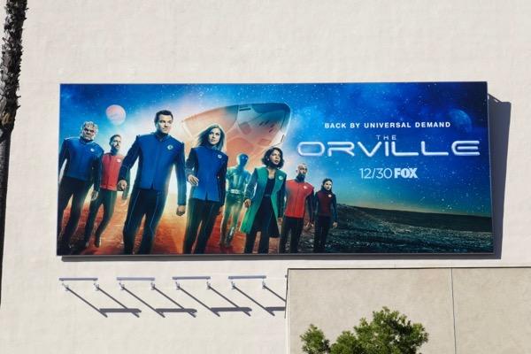 Orville season 2 billboard