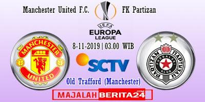 Prediksi Manchester United vs FK Partizan — 8 November 2019