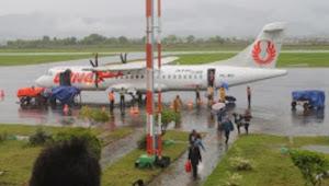 Bandara Sultan Muhammad Salahuddin Bima Ditutup