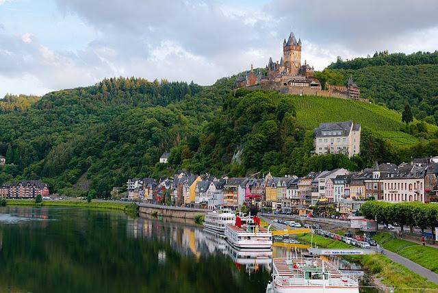 Cochem e o Reichsburg - Roteiro pelo Rio Mosel (Alemanha) com vinícolas