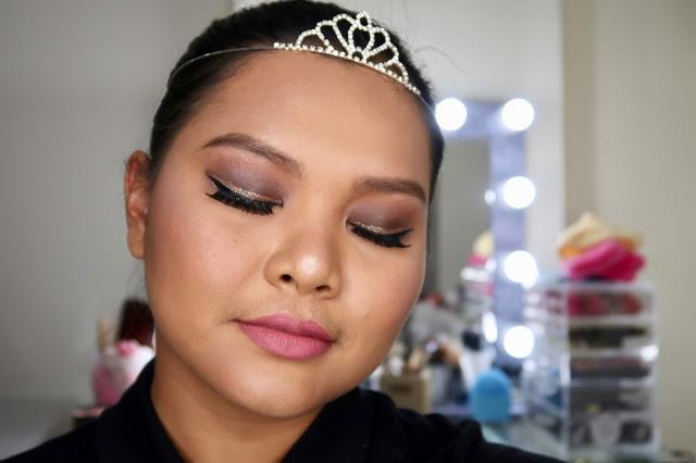 Ever bilena uncover eyeshadow palette makeup look