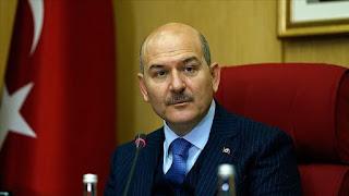 وزير الداخلية التركي يعلن عن أعداد الأماكن الخاضعة للحجر الصحي
