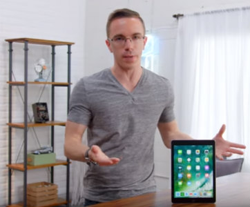 Austin Evans And The 2018 iPad