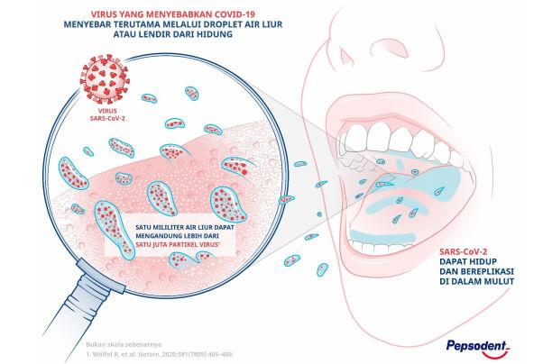 droplets, virus penyebab penularan covid-19