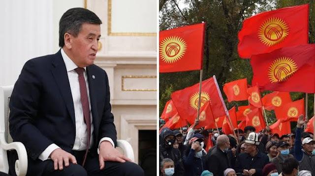 Terus Menerus Didemo Warga, Presiden Kirgistan Akhirnya Mengundurkan Diri