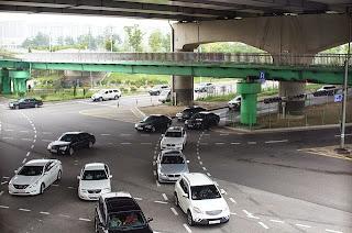 交差点の画像