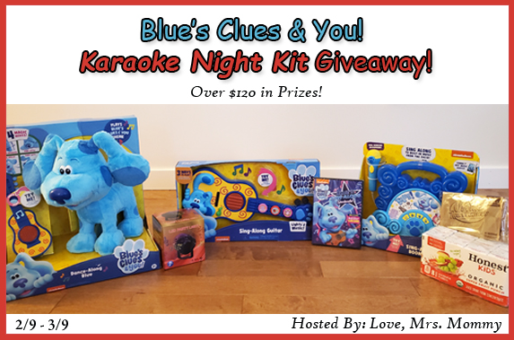 HUGE Blue's Clues & You! Karaoke Night Kit Giveaway! $120+ RV!