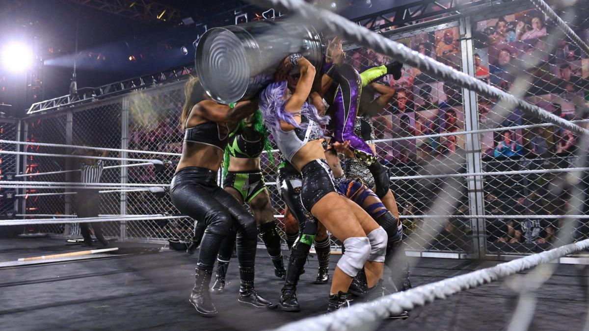 Women's WarGames match at WWE NXT TakeOver: WarGames 2020