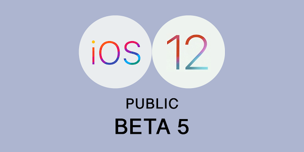 Apple releases iOS 12 Public Beta 5