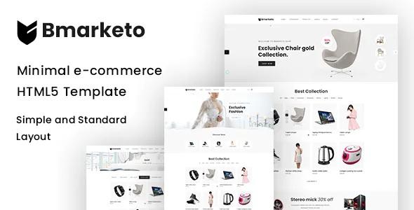 Best Minimal eCommerce HTML Template