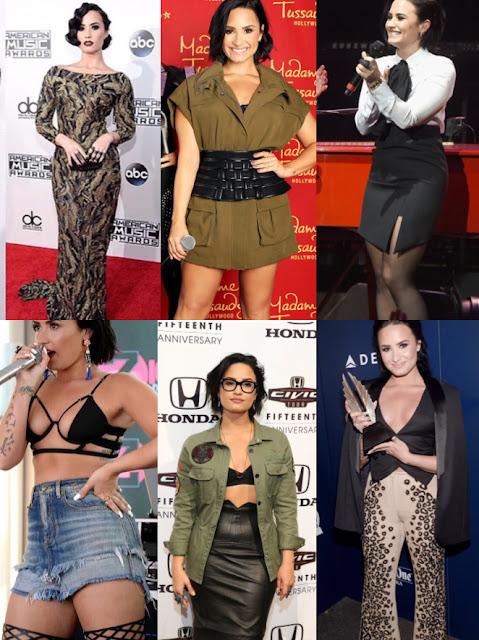 Looks Demi Lovato