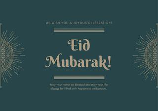 Beautiful Eid Mubarak Cards