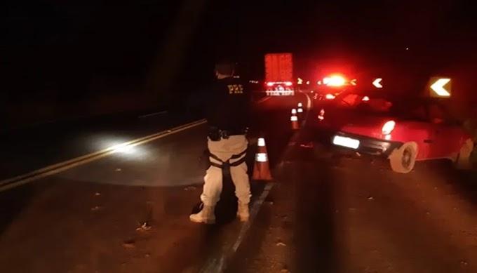 """Rapaz de 20 anos grava vídeo """"chapado"""" antes de sofrer acidente na BR 277 em Virmond"""