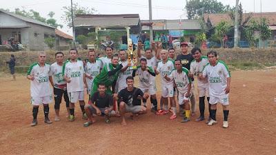 Final sepak Bola Tim Pemkab Juara 1