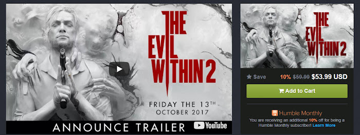 The Evil Within 2 ハンブル