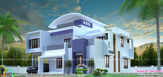 Modern house plan by Aquila Interio