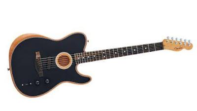 Review, Spesifikasi, Harga Fender American Acoustasonic Telecaster