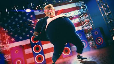 President Donald Trump dancing picture