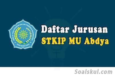 daftar jurusan stkip muhammadiyah abdya