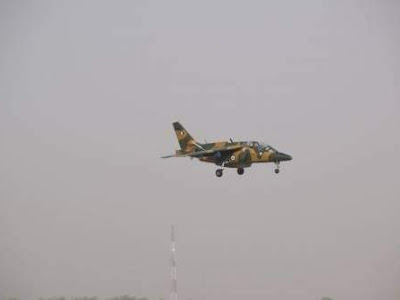 Military Jet Combs Orlu Communities For ESN Operatives After Failed Land Combat