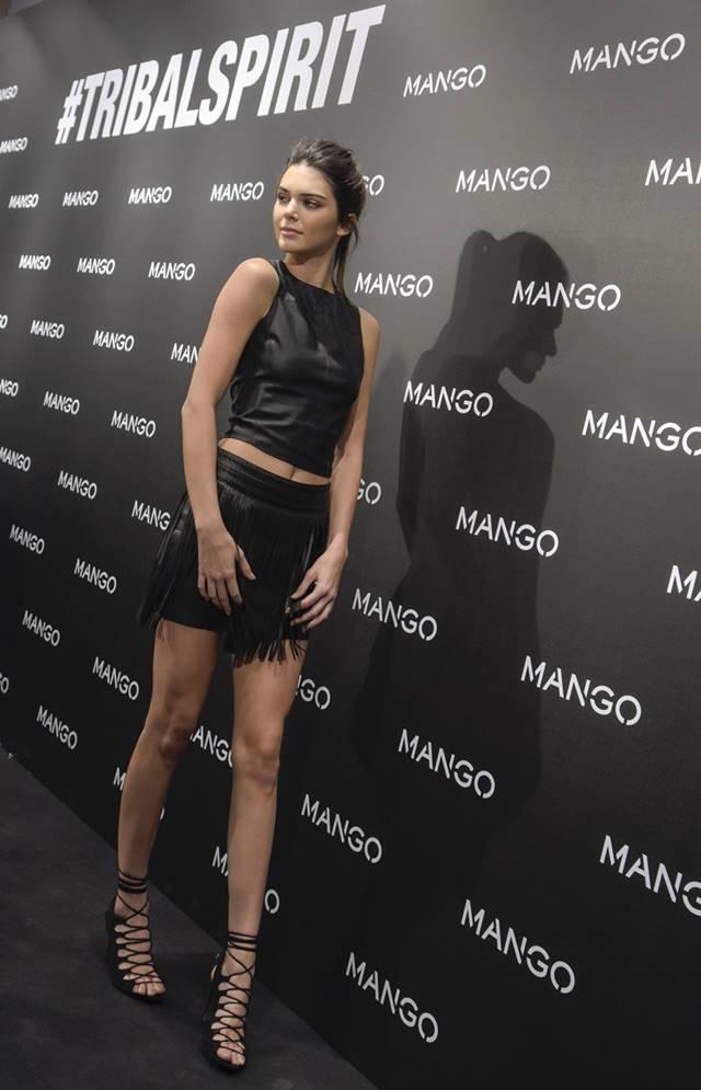 Estilo rocker da modelo Kendall Jenner